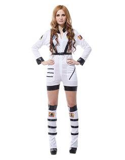 X射線 精緻禮品:X射線【W380031】性感太空女,萬聖節派對道具太空人角色扮演化妝舞會舞台劇戲服表演服
