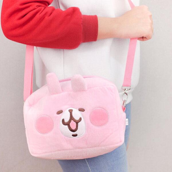 PGS7卡娜赫拉系列商品-卡娜赫拉Kanahei兔兔P助方塊型絨毛提袋【SIB80051】