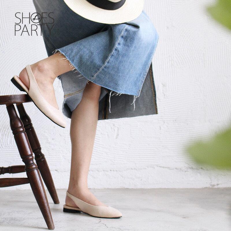 【P2-18328F】春天少女心,優雅尖頭平底鞋_Shoes Party 1