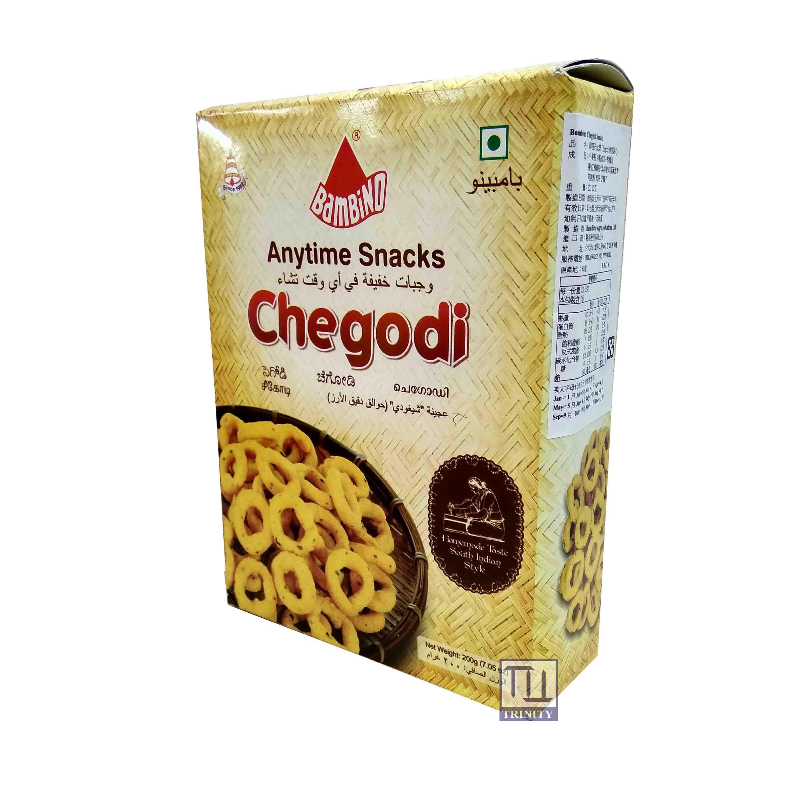 Bambino Chegodi Snacks  印度巴比諾 Chegodi 休閒點心