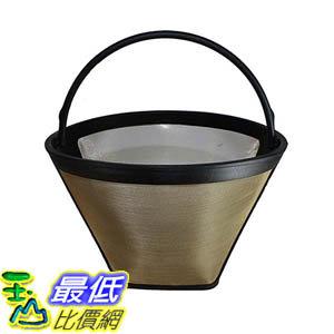 [106美國直購] Premium Washable and Reusable Coffee Filter 4 Cone, Fits Bonavita BV1800 8-Cup Coffee Make..