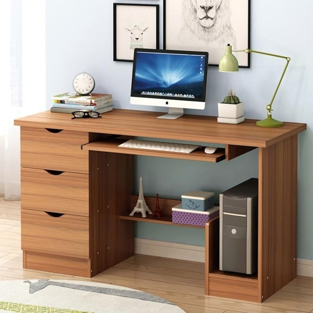 電腦桌 電腦台式桌家用學生桌臥室書桌辦公桌子簡約寫字台 JD 全館85折起