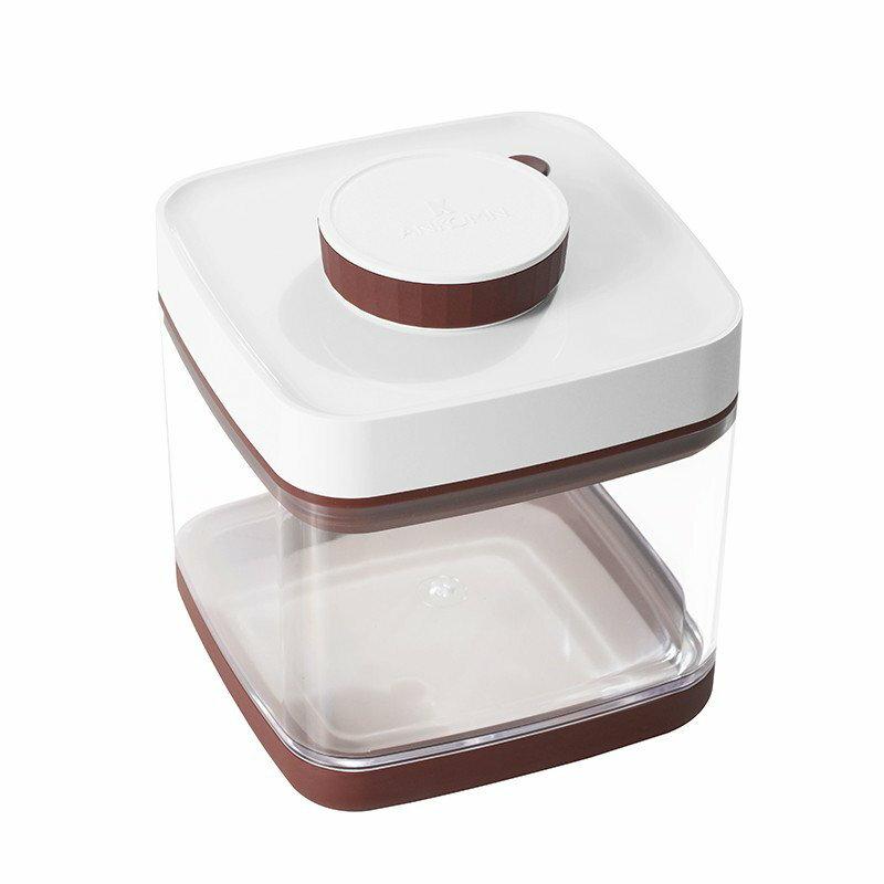 ANKOMN Savior 真空保鮮盒 1.5L - 紅棕色 - 限時優惠好康折扣