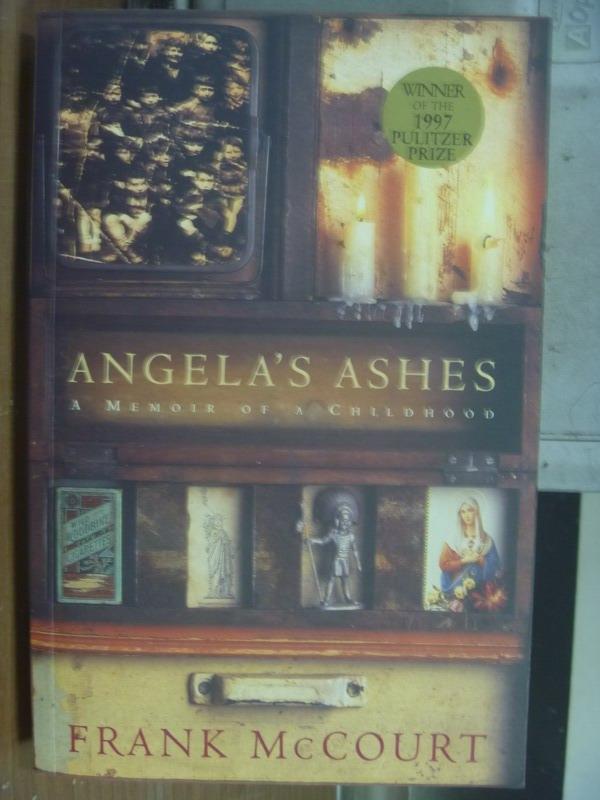 【書寶二手書T6/原文小說_QAT】Angela's Ashes_Frank McCourt