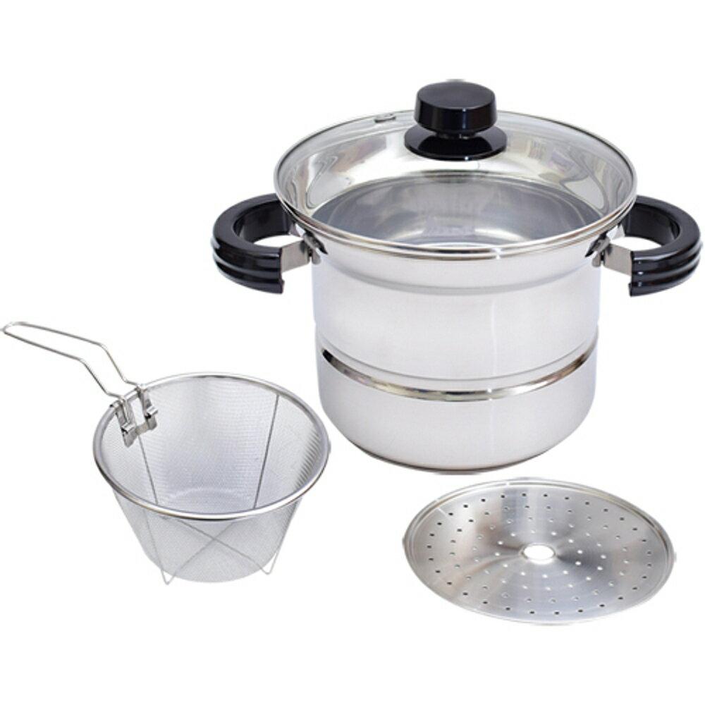 頂尖廚師TOP CHEF304不鏽鋼多功能萬用鍋