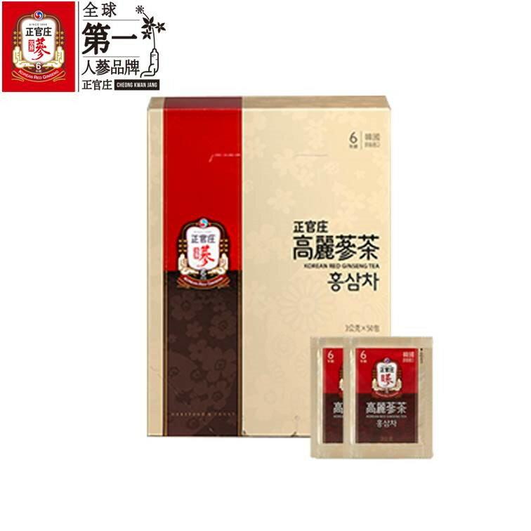 【正官庄】高麗蔘茶50包 / 盒 禮盒裝 6年根高麗蔘濃縮蔘茶 即溶茶粉 4 / 10左右出貨 0