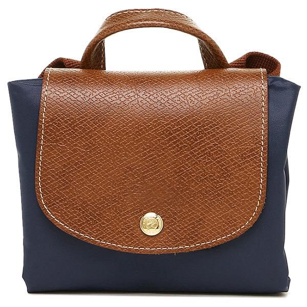 【LONGCHAMP】 LE PLIAGE 深藍折疊後背包【全店免運】 3