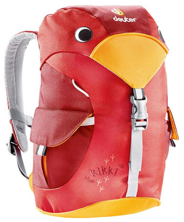 【【鄉野情戶外專業】 Deuter |德國|  kikki 6L登山露營旅行/兒童雙肩背包/幼兒背包/兒童包 紅/莓紅_36093