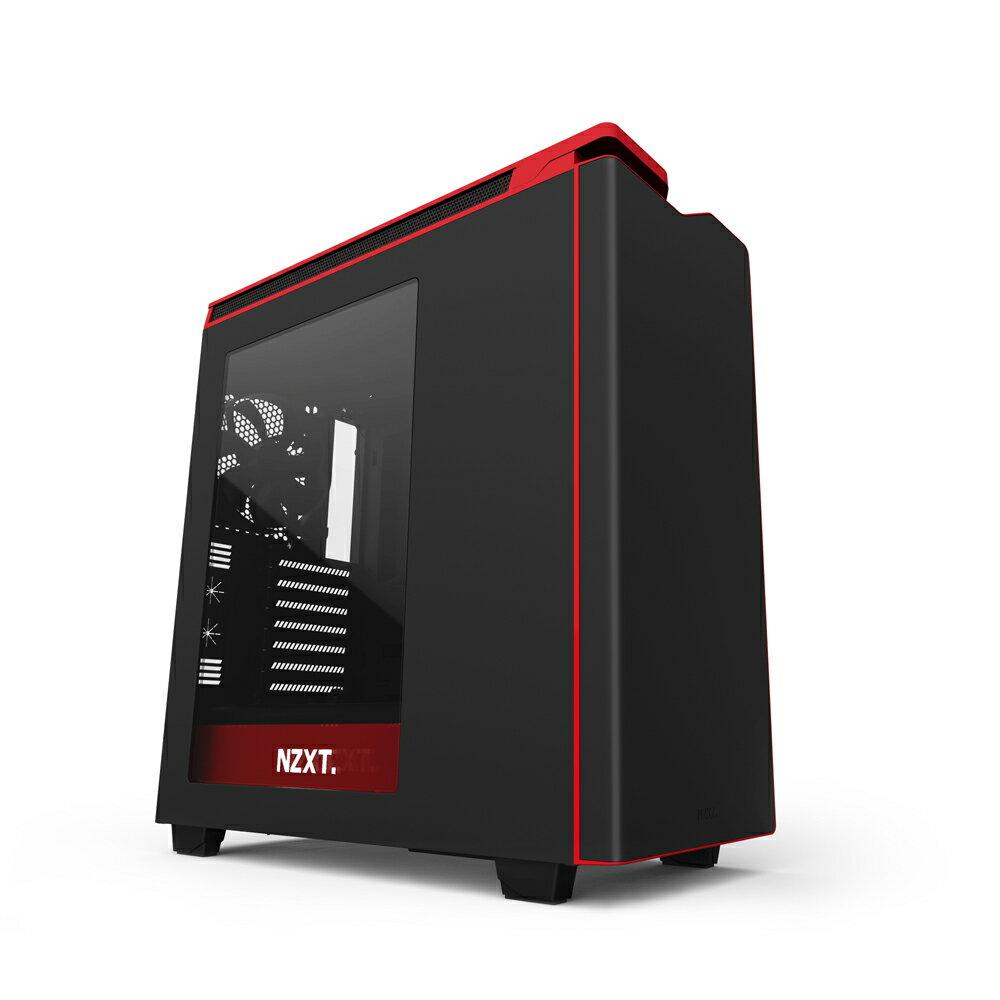 【迪特軍3C】NZXT 恩傑 H440 Plus 電腦機殼 黑/紅/白 透側 三色選一  電腦機殼-黑紅
