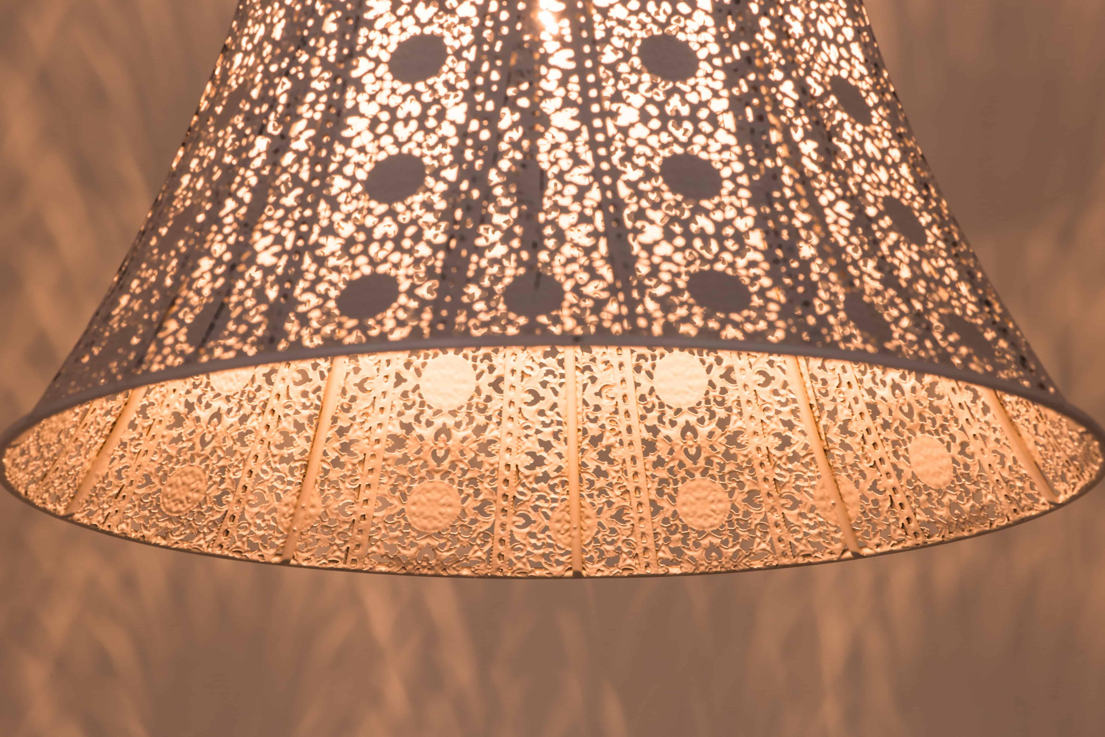 鄉村風米白吊燈-BNL00074 4