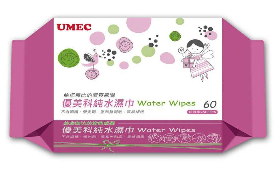 台農 優美科 純水濕紙巾 60抽 1箱12包入