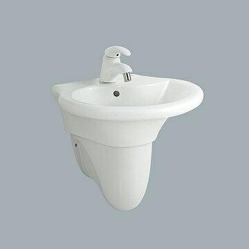 HCG麗佳多增安全洗臉盆短柱 / 不含水龍頭  / L800SAdbR+F801Adb - 限時優惠好康折扣