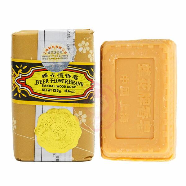 上海蜂花檀香皂沐浴香皂蜂花香皂(125g)【庫奇小舖】