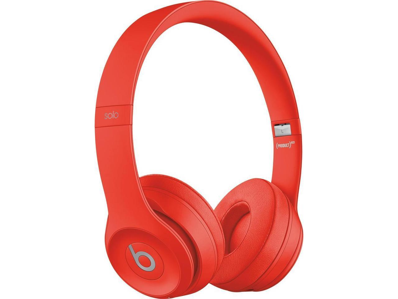 Beats by Dr. Dre - Beats Solo3 Wireless Headphones - (PRODUCT) RED