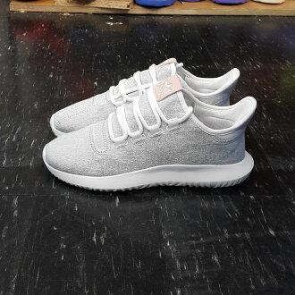 adidas TUBULAR SHADOW W 粉標 小350 灰色 粉紅色 雪花 BY9735