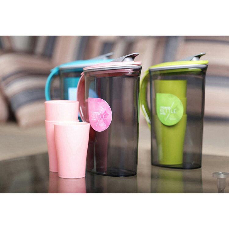 大容量塑料冷水壺水杯套裝  2.1L  1.5L【WS0365】 BOBI  11/03 1