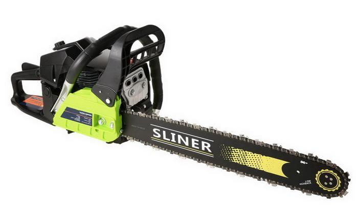 59CC Petrol Chainsaw Cutting Wood Gas Chain Saw 3.4HP Engine 2.0KW Chain and Cover Tool Kit 0
