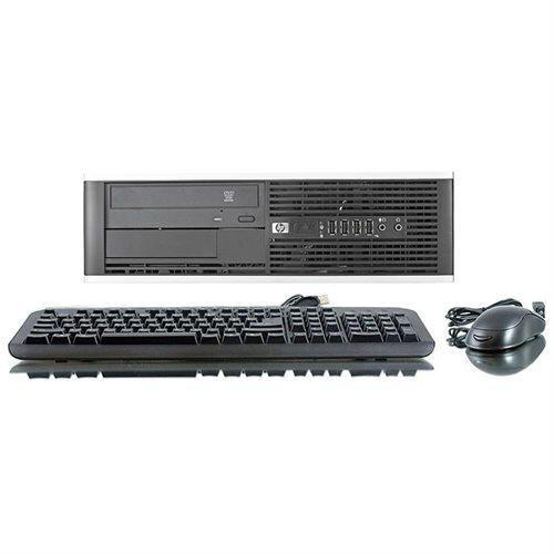 HP 8000 Elite Desktop Computer - Intel Core 2 Duo 3 GHz - 4 GB DDR3 SDRAM - 250 GB HDD - Windows 7 Professional 32-bit - Small Form Factor - Refurbished - DVD-Reader DVD-ROM 3