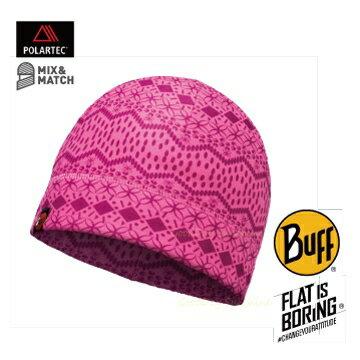 ├登山樂┤西班牙 BUFF 粉紅花樣 POLAR保暖帽 # BF113175-538-10