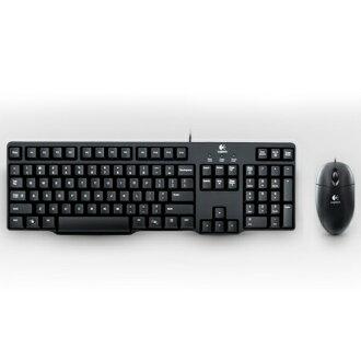 【全店限定款領券97折起】Logitech 羅技 MK100 滑鼠鍵盤組