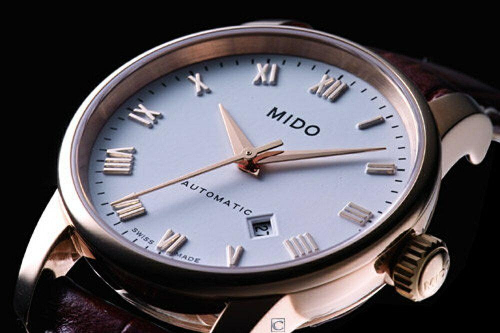 MIDO 美度錶  自動機械腕錶M76003268玫瑰金色
