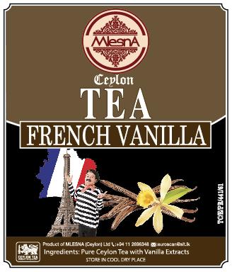曼斯納 MlesnA - French Vanilla 法式香草紅茶 (50克/包) 錫蘭紅茶/茶包/茶葉