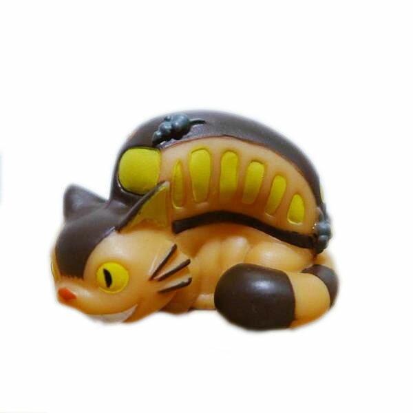 【真愛日本】10102700069 指套娃娃-貓公車   龍貓 TOTORO 豆豆龍 公仔 擺飾 收藏 玩具 正品 限量
