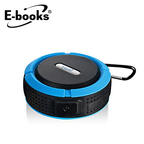 E-BOOKS D11 藍牙防潑水隨身喇叭【三井3C】