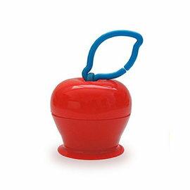 【淘氣寶寶】美國 Grapple 矽膠創意小物 三爪玩具俏吸盤-紅蘋果【媽媽包必備,終結你丟我撿】