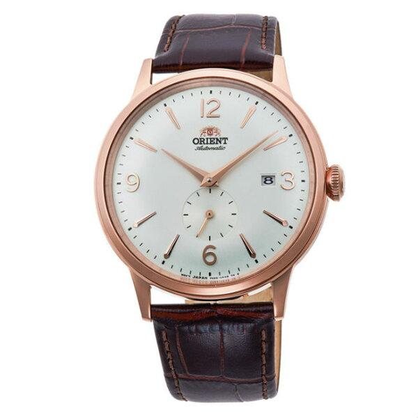 Orient東方錶(RA-AP0001S)DATEⅡ復古小秒針機械錶白面40.5mm