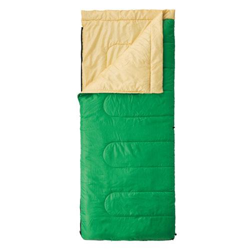 【露營趣】中和安坑 附手電筒 Coleman CM-27261 表演者II萊姆綠睡袋/C10 信封型睡袋 化纖睡袋 纖維睡袋 可全開併接
