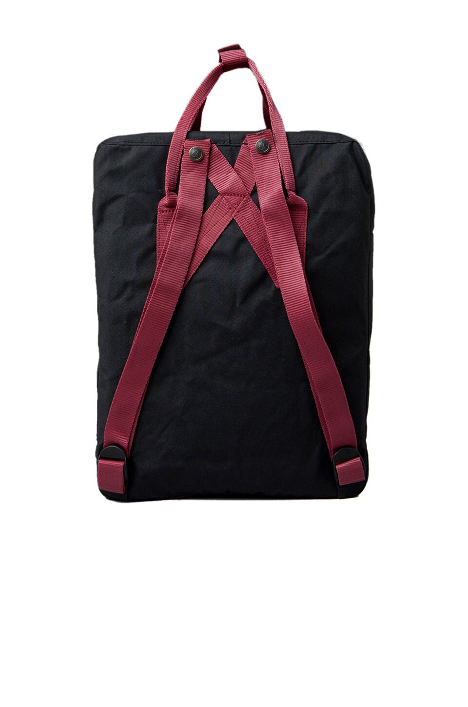 【Fjallraven Kanken 】K?nken Classic 550-326 Black & Ox Red 黑公牛紅 3