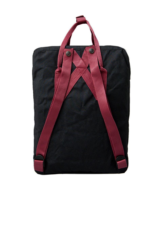 【Fjallraven Kanken 】K?nken Classic 550-326 Black & Ox Red 黑公牛紅【全店免運】 3
