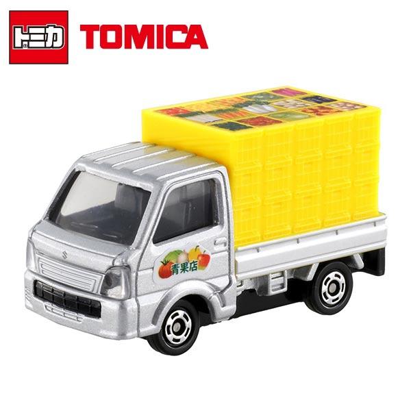 【日本進口】TOMICA 多美小汽車 鈴木 SUZUKI 蔬果貨車 NO.89 玩具車 貨車 - 858393