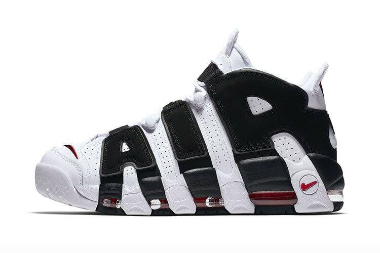 Nike Air More Uptempo 大AIR 黑白熊貓 男女鞋