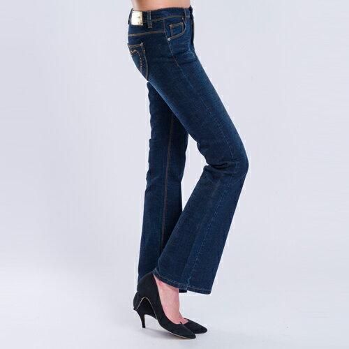 【結帳輸入『fashion2228-2』滿$888現折$100】【 5折限定↘】鑽愛心中腰靴型褲 - BLUE WAY  ET BOiTE 箱子 1