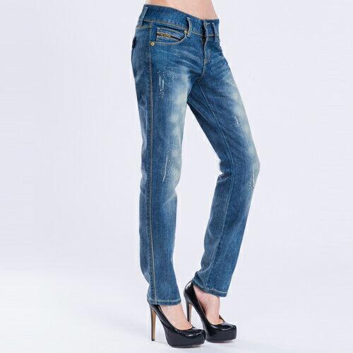 【990元優惠↘】微彈小破直筒褲 - BLUE WAY  ET BOiTE 箱子 0