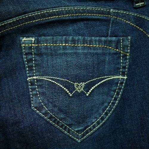 【結帳輸入『fashion2228-2』滿$888現折$100】【 9折限定↘】經典心型窄管直筒褲 - BLUE WAY  ET BOiTE 箱子 2