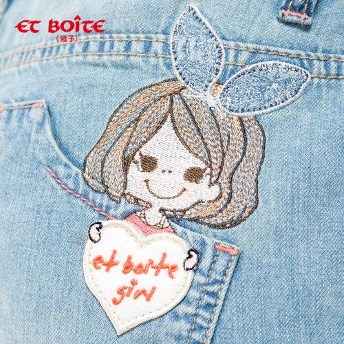 ET BOiTE 箱子  ET Amour 髮帶娃娃男友褲 1