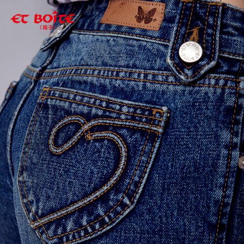 【驚爆690元免運】調細牛仔短褲 - BLUE WAY  ET BOiTE 箱子 2
