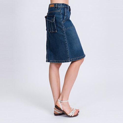ET BOiTE 箱子  後立體口袋牛仔裙   【單筆滿1000結帳再折$100】 0