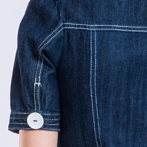 【雙11持續發燒↘均一價$990】短袖復古甜美丹寧洋裝 - BLUE WAY  ET BOiTE 箱子 2