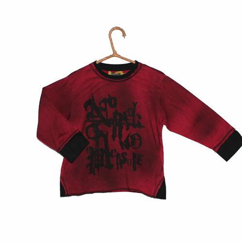 【440元優惠↘】塗鴉T恤(紅) - BLUE WAY KIDS ONIARAI鬼洗