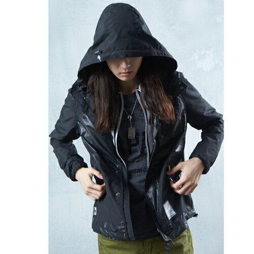 【5折限定↘】BlueKONn.  防風防潑外套(黑) 1