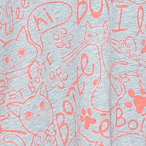 ET BOiTE 箱子  Amour貓咪趣味長袖T恤 1
