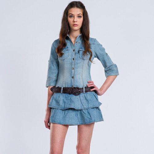 牛仔洋裝 - BLUE WAY ET BOiTE 箱子