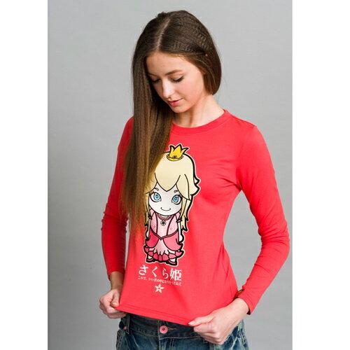 【990元優惠↘】JIZO 地藏小王  櫻花公主長袖T恤(桃紅)