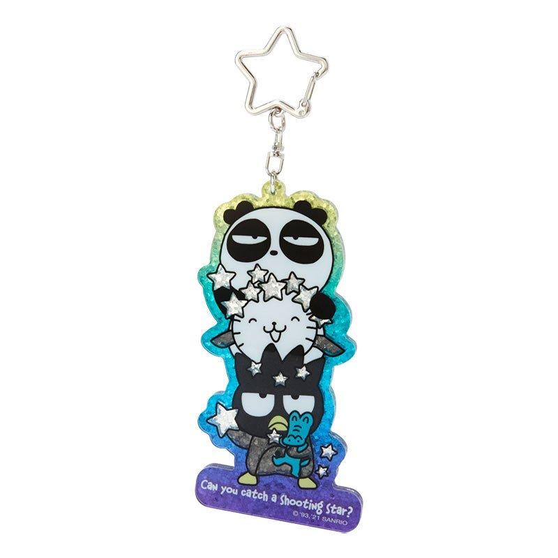酷企鵝 太空系列 生日限定 造型壓克力鑰匙圈 G34 吊飾 鑰匙圈 鎖圈 掛飾 收藏 擺飾 真愛日本