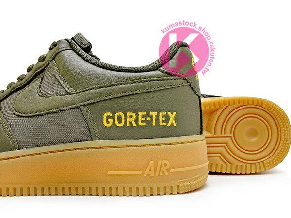 2019 戶外風 OUTDOOR 機能鞋款 NIKE AIR FORCE 1 GORE-TEX 墨綠 膠色底 防水 空軍一號 AF 1 WTR GTX LOW (CK2630-200) 1119 3