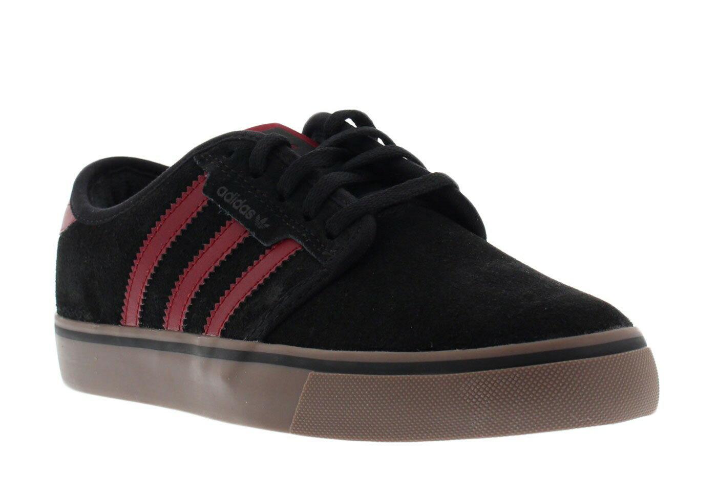 ADIDAS SEELEY J 黑紅 女鞋 US 5.5~6.5 D68914 E倉